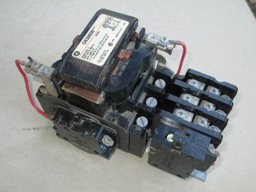 GE General Electric CR306D0 Motor Starter Size 2 115, 200, 330, 600VAC 45AMP