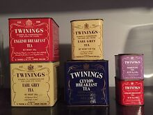 Vintage twinings tins Gulfview Heights Salisbury Area Preview