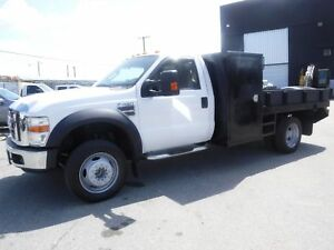 2008 Ford F-450 SD Flat Deck 12 Foot Regular Cab 2WD Dually Dies