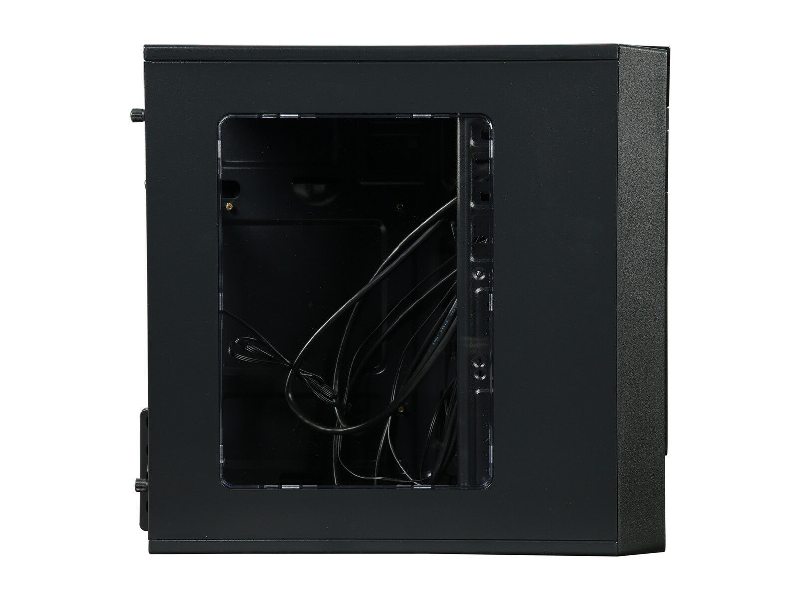 Rosewill Black Computer PC Case, ATX Mini Tower, Side Window and Two Fans FBM-X1