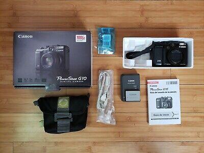 Canon Powershot G10 14.7 MP Digital Camera - DISCOUNTED