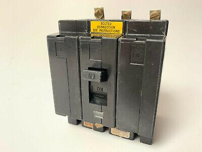 Ehb34060 Square D 60 Amp 480v 3 Pole Bolt On Circuit Breaker Type Ehb