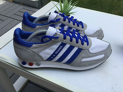 MENS GENUINE ADIDAS LA TRAINERS UK SIZE 10