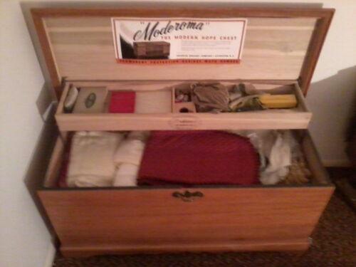 Antique moderoma Blanket Chest