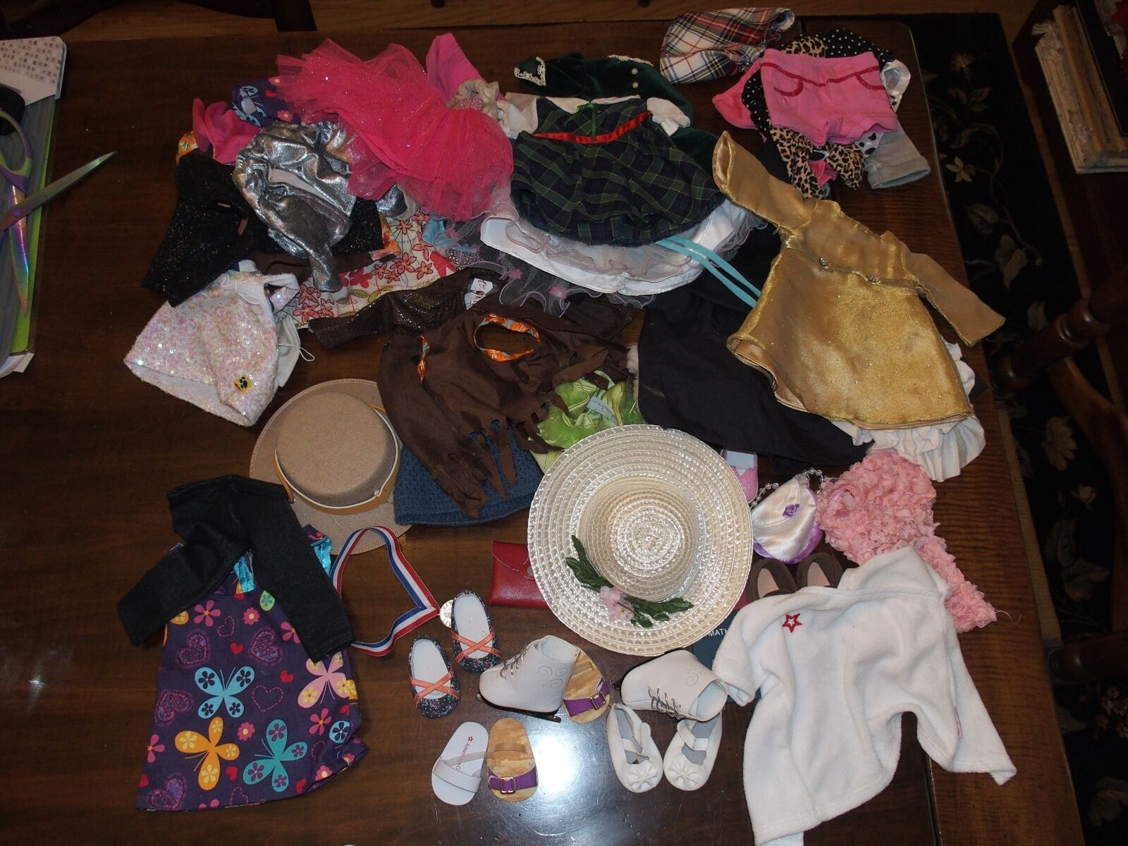 Изображение товара 50+ Lot Doll Clothes& Accessories for 18 inch Doll American Girl Handmade Other