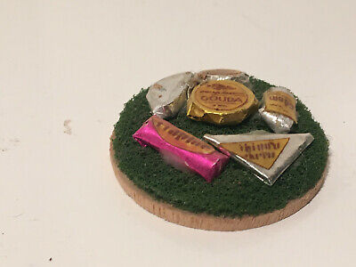 Gourmet Cheese Tray - Vintage Dollhouse Miniature Gourmet Cheese Tray #8