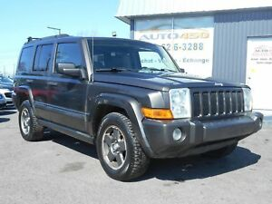 Jeep Commander 4X4 2006 ***7 PASSAGERS,AIR CLIMATISE***