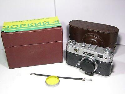 Дальномерные камеры Zorki-5 Russian 35mm Camera
