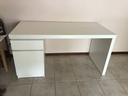 Desk From The Malm Range At IKEA