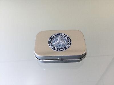 Mercedes-Benz Classic Minzdose aus Blech - Bonbondose