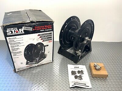 North Star 55791 Pressure Washer A-frame Hose Reel 150 Capacity 5000 Psi P-5