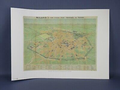 Cartina Milano 800.Carta Topografica Vatican