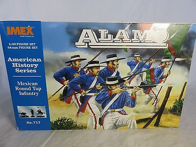 IMEX Alamo Mexican Toy Soldiers w/ Presidio Hats (54MM) 12 in 7 poses (Hat Toy Soldiers)