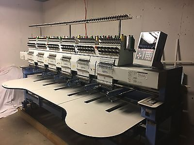 Happy Brand Embroidery Machine 6-head Excellent Condition