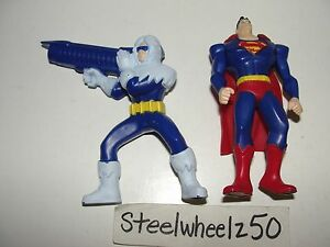 Young-Justice-Superman-Captain-Cold-McDonalds-Action-Figure-Lot-2011    Young Justice Captain Cold