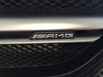 Mercedes-Benz AMG Front Grille Badge-A C E S CLA CLS G A45 E63 X156 W212 205 Uk Uk A/c
