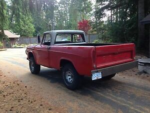 1969 Fargo W100 Power Wagon