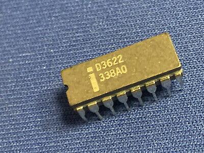 Qty-1 D3622 Intel 2048-bit Prom 24-pin Cerdip Vintage 1976 Apple 1 Nos Last Ones