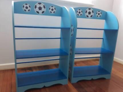 Cute Blue Soccer Bookshelf Selling 2