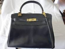 HERMES Kelly Box Bag 28 Authentic Vintage, Made in France 1977 Medina Kwinana Area Preview
