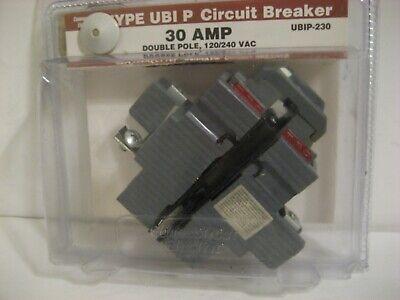 Vpkubip 30 Amp 1-12 In. 2-pole Pushmatic Replacement Circuit Breaker Ubip-230