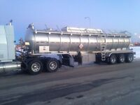 Need 2 fluid haulers for a busy owner operator in the GP area