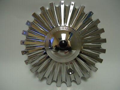 SPECTRUM CHROME CENTER CAP/CHROME WHEEL/RIM CAP-7 1/2