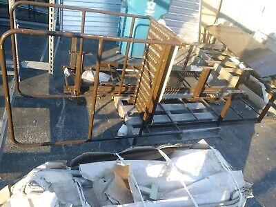 Fixed Fire Escape Platform-ladder