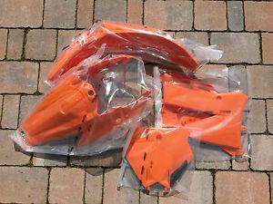 Plastiksatz Plastikkit inkl. Nummerntafel OEM Plastik KTM SX 85 2006-2010 2009