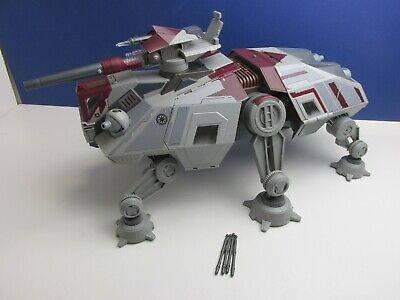 star wars AT TE WALKER TANK for action figure HASBRO rots CLONE WARS rare 0307