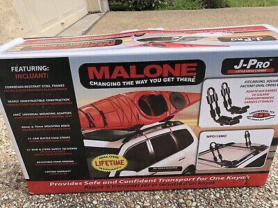 Malone J-Pro J Style Rooftop Kayak Carrier MPG116MD NEW IN BOX