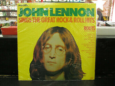 JOHN LENNON Sings The Great Rock & Roll Hits LP ROOTS Vinyl RECORD Sealed NEW