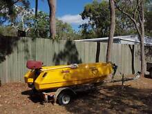 POLYCRAFT 3m TUFF TENDER , 3.3HP MERCURY OUTBOARD & TRAILER Pacific Haven Fraser Coast Preview