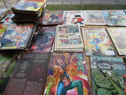 comic books all types CHEAP $2 EACH