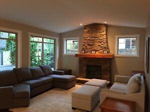 4 bed, 3.5 bath house for rent, lower mission Kelowna, FURNISHED