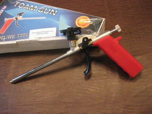 S-3 CAN FOAM INSULATION APPLICAT0R GUN SPRAY RIG LESS $$$ WORKS GOOD