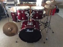 Pearl drum with zildjian ZBT plus cymbal Runcorn Brisbane South West Preview