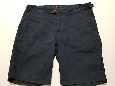 Navy Blue Classic Shorts (Psycho Bunny Triumph Sateen Shorts - Navy Blue- Classic Fit 33 - NWT - MSRP $78)