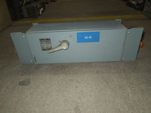 Westinghouse Fdp Unit Fdps363 100a 3p 600v Single Fusible Panelboard Switch