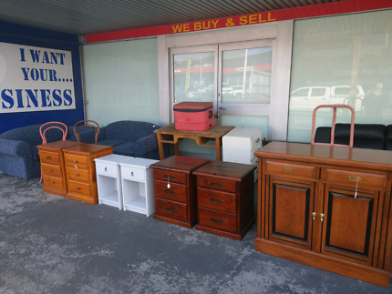 ASSORTED SECONDHAND FURNITURE