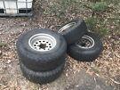 Landcruiser 60 series rims & tyres