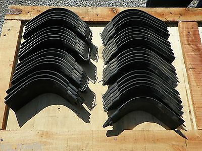 "Agrator Replacement Tiller Tines Code V-042077 & V-042078 Full Set 65"" Machine"