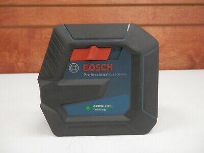 Bosch Gll100-40g Green-beam Self-leveling Cross-line Laser