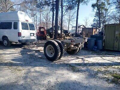 Military Trailer M200 A1 For Generator Farm Equiptment Job Construction Site