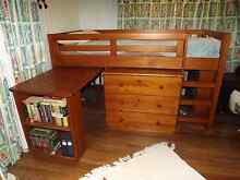 Kids timber single bunk style bed Earlville Cairns City Preview