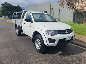 2015 Mitsubishi Triton Single Cab Ute TURBO DIESEL LOW KMS HIGHRIDER Hoppers Crossing Wyndham Area Preview