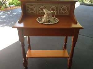 Antique pine wash stand New Lambton Heights Newcastle Area Preview