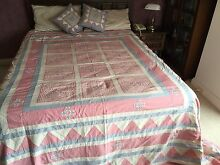 HAND SEWN PATCHWORK BED COVER Mosman Mosman Area Preview