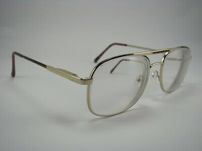 Looking Glass 8019 Gold & Tortoise Shell Aviator RX Eyeglass Frames (Mens Tortoise Shell Eyeglass Frames)