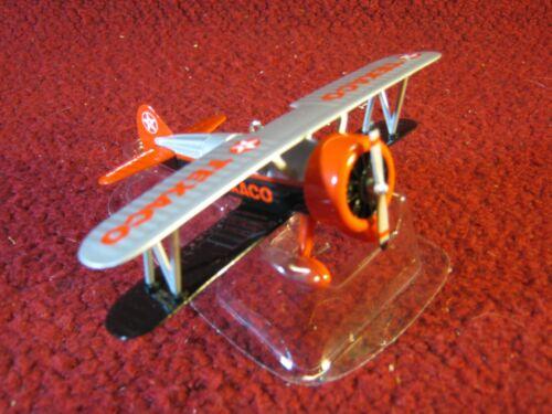 Stearman Biplane Ornament Texaco Brand Petroleana